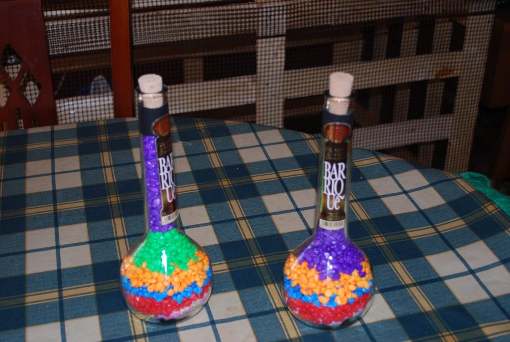 Come trasformare una bottiglia vuota in una splendida lampada per la casa (1/5)