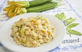 Risotto con zucchine e zucca