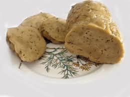 Pasta alla carbonara vegetariana con il seitan (1/2)