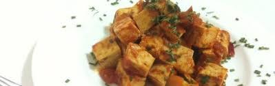 Dadolata infuocata di tofu