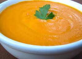 Vellutata di carote e curry