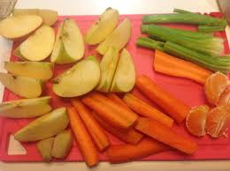 Centrifugato di mela, carota e finocchio