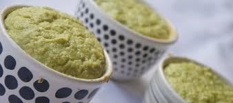 Mini soufflé di broccoletti