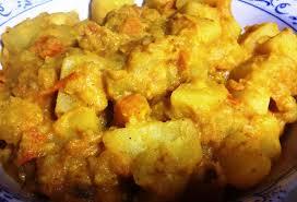 Curry di patate veg