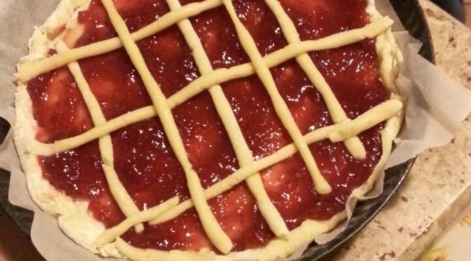 Crostata alla confettura di frutta…letta e preparata