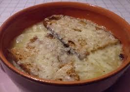 Zuppa al pecorino sardo