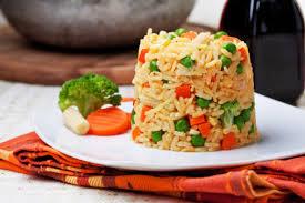Tortino di riso vegetariano