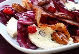 Bruschette radicchio e gorgonzola