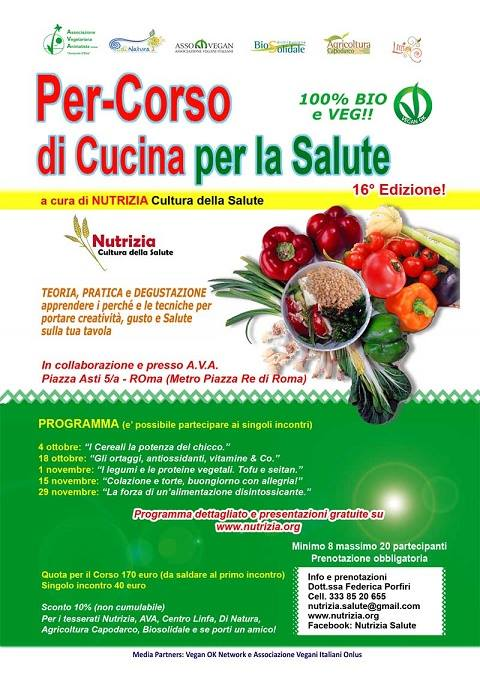gli appuntamenti verdi del mondo vegetariano e vegano 2015 | verde ... - Cucina Vegana Roma