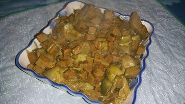 #Concorsoverdenatura Seitan arrosto con carciofi e spezie