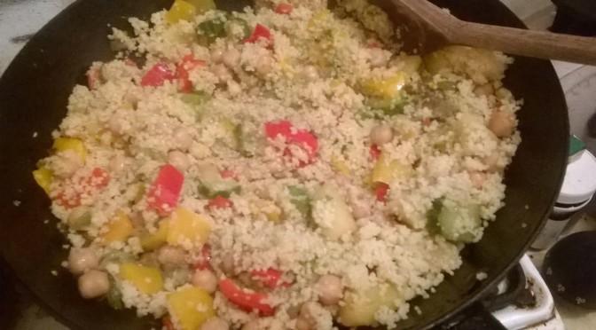 #Concorsoverdenatura Il cous cous vegetariano di Antonella Dalmonte