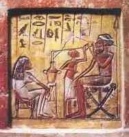 Degustazione birra in antico egitto