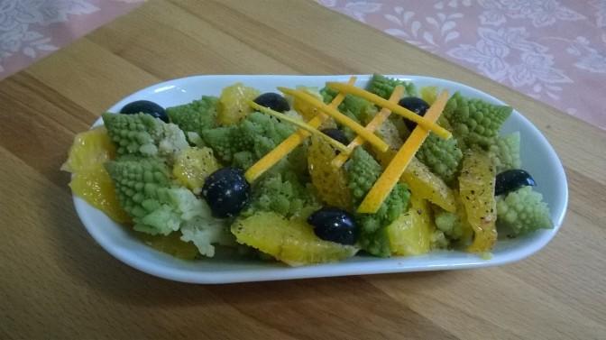 Insalata broccolo e arance