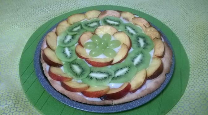 Crostata di frutta veg