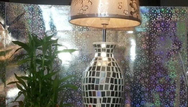 La lampa-vaso….una nuova creazione di Verde-Natura