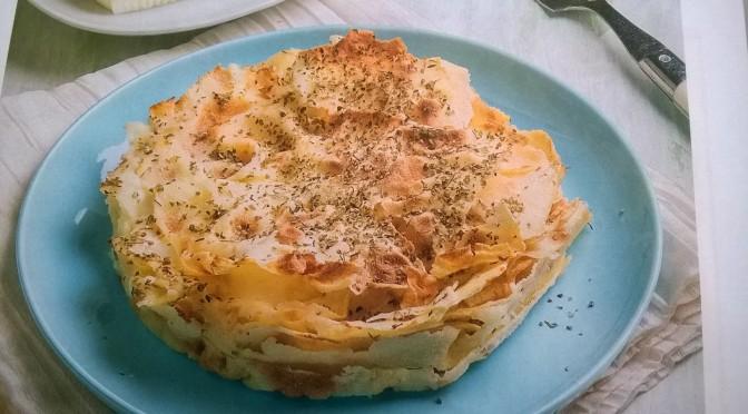 Lasagna vegetariana con pane carasau