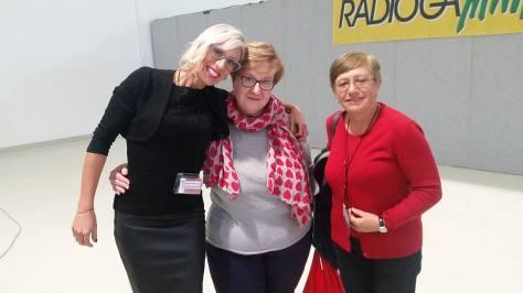 Paola Di Giambattista con Roberta D'Alessandro e Assunta Ruscitto