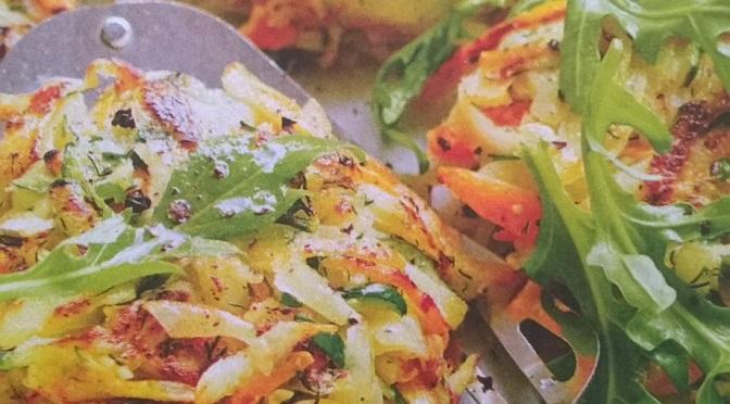Polpette veg di verdure con patate, zucchine e carote.