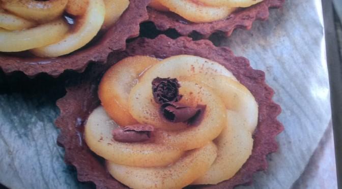 Crostatine veg cioccolato e pere