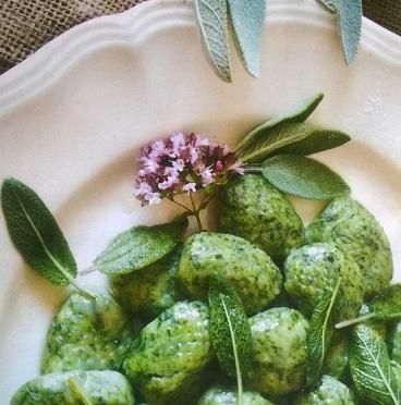 Gnocchi vegani di spinaci