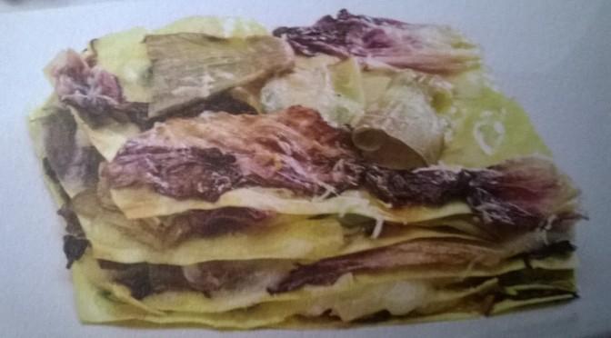 Lasagne di radicchio