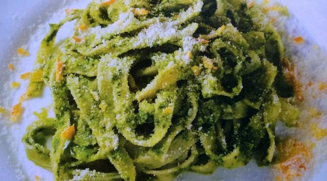 Tagliatelle agli spinaci fatte in casa