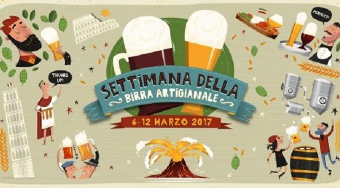 Roma, dal 6 al 12 marzo torna La Settimana della Birra Artigianale