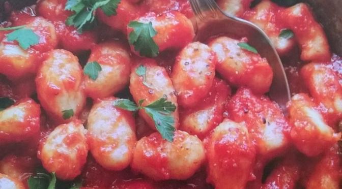 Gnocchi veg risottati al pomodoro