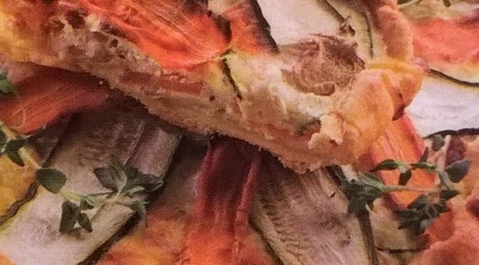 Torta salata con carote e zucchine