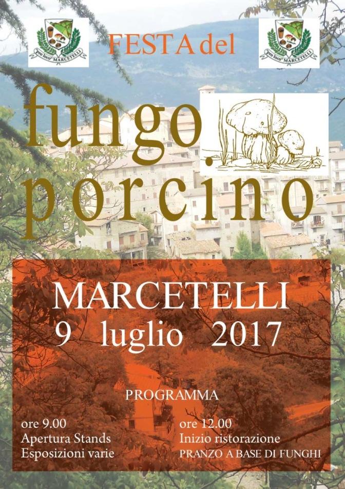 Festa del Fungo Porcino di Marcetelli (Ri)