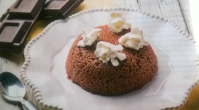 Tortino di couscous al cioccolato