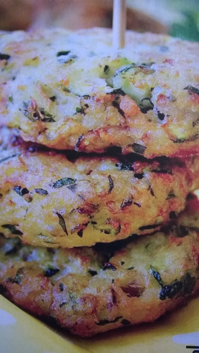 Polpette di zucchine con ricotta