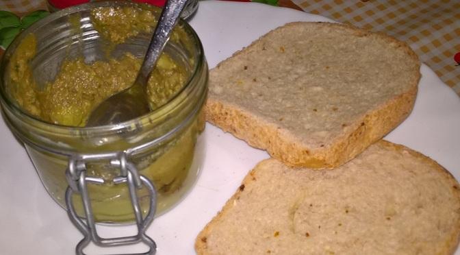 Hummus di avocado e lime