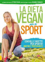 """""""La Dieta Vegan per lo Sport Consigli e ricette per sportivi amatori e professionisti"""" di Ettore Pelosi ed Eduardo Ferrante"""