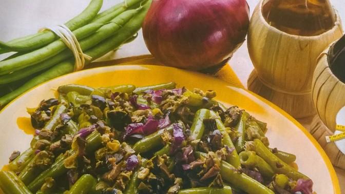 Fagiolini capperi e olive