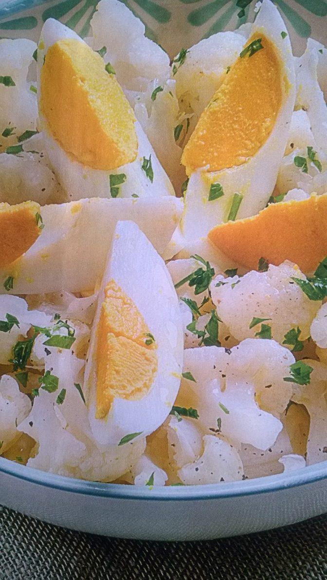 Cavolfiore con uova