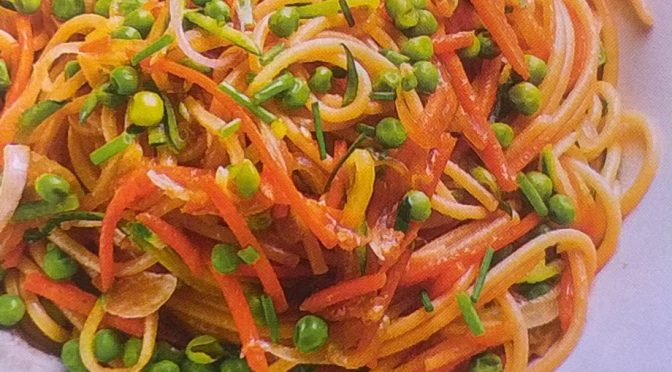 Spaghetti vegani