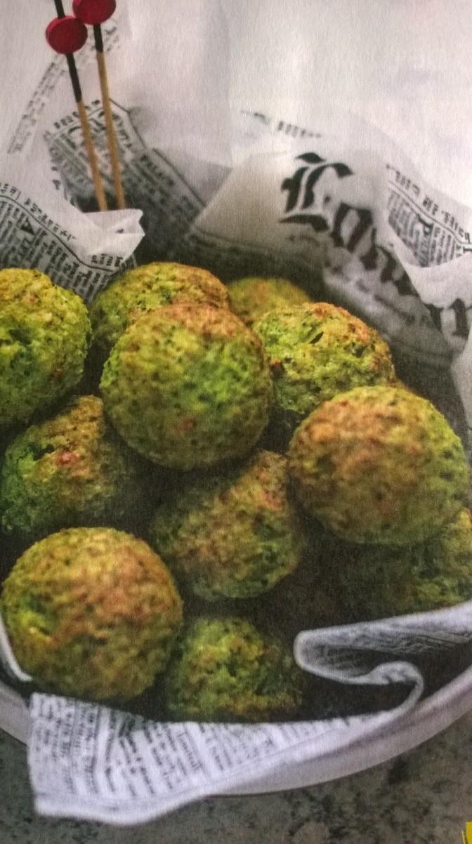 Crocchette di broccoli al parmigiano