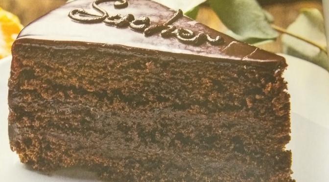 Sacher torte vegan e light