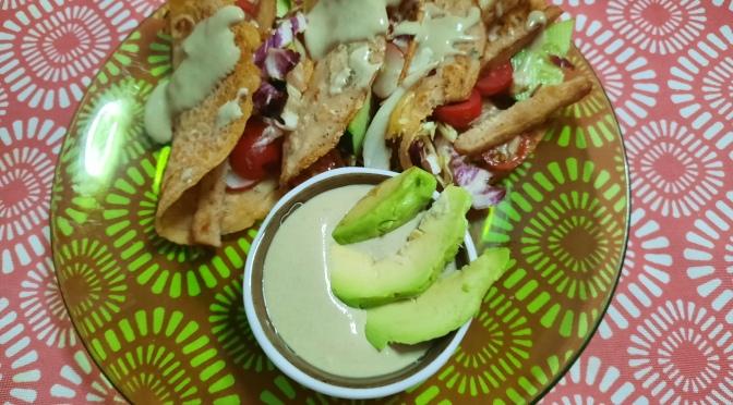 Raimbow tacos